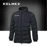 卡尔美(KELME)运动棉衣 短款加厚棉服