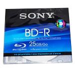 索尼(sony)BD-R 台产蓝光刻录盘 单片薄盒装 25G 6速