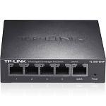 TP-LINK TL-SG1005P 5口全千兆非网管PoE交换机网络监控无线AP供电器模块