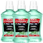 高露洁(Colgate)贝齿竹炭薄荷 漱口水套装 500ml×3