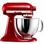 凯膳怡(KitchenAid)5KSM150PSCER 料理机家用4.8升全自动厨师机和面揉面打蛋多功能搅拌机 帝王红原装进口