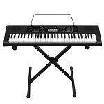 卡西欧(CASIO)CTK3388 钢琴式键盘电子琴 黑色