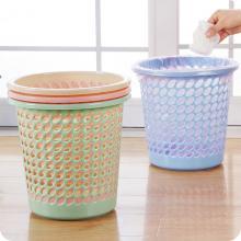 兄弟 圆纸篓 L-109 耐用塑料垃圾桶垃圾篓 30*26cm 颜色随机
