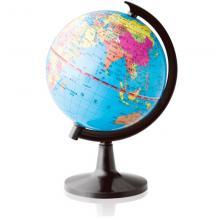 得力(deli) 3031 高清标准地球仪 办公家居摆设 直径10.6cm