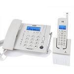 步步高 W163 无绳电话机 1拖1子母机 白 上门安装调试