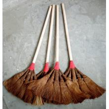 洁邦 00001 木柄棕毛扫把 棕毛笤帚 学校工厂车间专用 103cm