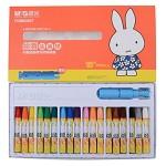 晨光(M&G)FGM90057 米菲卡通丝滑油画棒蜡笔绘画笔 18色/盒 单盒价
