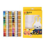 晨光(M&G)MF9015-1 米菲卡通3D六角油画棒蜡笔绘画笔 36支/盒