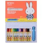 晨光(M&G)FGM90056 米菲卡通丝滑油画棒蜡笔绘画笔 12色/盒
