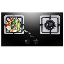 美的(Midea)JZT-Q360B 经典嵌入式双灶大火力天然气灶具 炊事机械