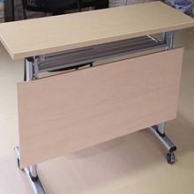 百顺吉祥 可折叠条桌组合 折叠条桌+高脚凳椅 1200*400*730mm