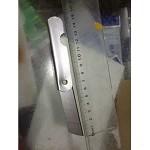先锋 折叠铅笔刀15.5cm 银白色 20把/盒