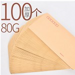 科星 标准牛皮纸信封 220*110mm 100个/包