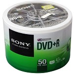 索尼(SONY)DVD刻录光盘 16速 4.7G 50片筒装