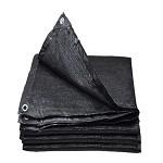 俗雨 抗老化耐腐蚀加密隔热防晒网 黑色