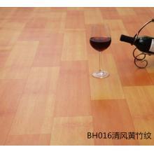 琴江之梦 BH016 PVC耐磨防水加厚地板革 清风黄竹纹 200*50cm