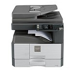 夏普(SHARP)2048n v / 2348s v系列黑白激光A4A3复印机打印机一体机扫描 2048NV带网络+双面+输稿器 单层纸盒