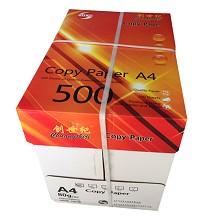 创世纪 B5 80g 复印纸 500张/包 5包/箱(橙) 单包价