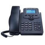 奥科(AudioCodes)IP405HDEG IP话机 高清语音 黑色