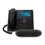 奥科(AudioCodes)UC-HRS-458 IP话机带大型扬声器 支持15人会议 黑色 其他办公设备