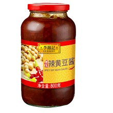李锦记 辣黄豆酱 调味酱豆瓣酱甜面酱辣椒酱 调味料调料 800g