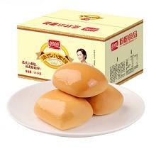 盼盼 法式小面包 早餐點心整箱裝奶香味1500g(新老包裝替換隨機發貨)