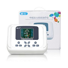 国仁 XY-805 中频激光综合治疗仪 家用肩颈腰背经络针灸电子按摩仪器