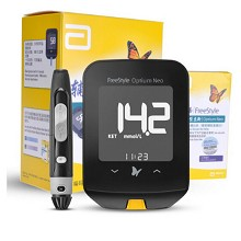 雅培(Abbott)FreeStyle Optium Neo 辅理善越佳型至新家用血糖仪 +50片越佳至新试纸