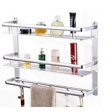 卡贝(Cobbe)太空铝浴室挂件、浴巾架卫生间 卫浴五金置物架壁挂 卫浴间类
