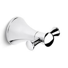 科勒(KOHLER)K-13457T-CP 浴室挂件五金挂件双衣钩