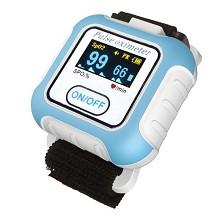 力康 (Heal Force) BM2000A 血氧仪 手腕式 家用 血氧饱和度检测仪 心率睡眠监测 指脉氧