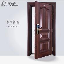 星月神(SEEYES)B261T 指纹解锁门甲级安全门家用防盗门钢制进户门 左锁右外开