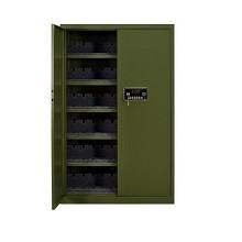 办公虎枪柜加厚钢板订制95式枪柜弹药柜防暴枪支专用保险柜 步枪柜