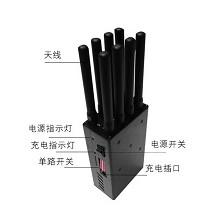 Lintratek WIFI移网络信号防追踪器防作弊屏蔽 手持8天线GPS