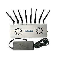 Lintratek WIFI移网络信号防追踪器防作弊屏蔽 8天线升级版
