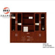 华都 HDYG-08 六门实木班台柜 台/桌类