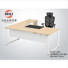 华都 HD504-1680 单柜办公桌+副台 台/桌类