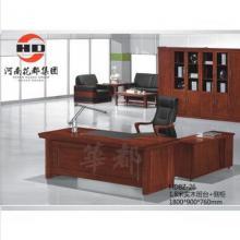 华都 HD8Z-26 1.8米实木班台+侧柜 台/桌类