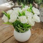 蔷薇花园 5578 厕所仿真花塑料花 款式多样
