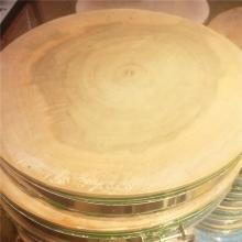 桂凤 柳木圆形抗菌防霉菜墩 直径45cm 厚7cm