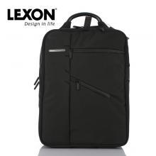 乐上(LEXON)LNB0654 双层背包 黑色
