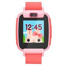 搜狗(sogou)T3 糖猫儿童智能电话手表 彩屏摄像儿童智能手表 防水GPS定位学生手表手机 粉色