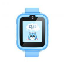 搜狗(sogou)G1 糖猫儿童智能电话手表 高清通话拍照GPS定位防丢防水学生手机 蓝色