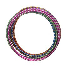 申跃 LS098 呼啦圈 彩色塑料健身套圈 直径65cm