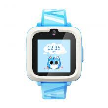 搜狗(sogou)M2 糖猫儿童智能电话手表 4G视频通话 智能问答 学生手机插卡触摸屏 海天蓝