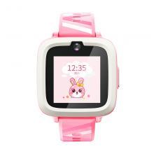 搜狗(sogou)M2 糖猫儿童智能电话手表  4G视频通话 智能问答 学生手机插卡触摸屏 蜜桃粉