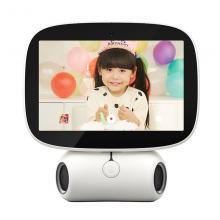 搜狗(sogou)R1 糖猫在家智能陪伴机器人 智能机器人 糖猫在家R1 视频通话 儿童早教 智能家居 白色