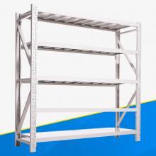 澄固 白色轻型常规材料货架 长2000*宽600*高2000 5层 主架