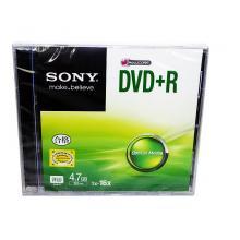 索尼(SONY)DVD+R 16速 刻录盘dvd光盘空白 单片盒装