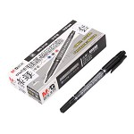 晨光(M&G)MG2130 双头多用记号笔 12支/盒 黑色 单支价